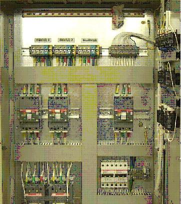 АВР(Автоматический ввод резерва сборка электрощитовое оборудование) .